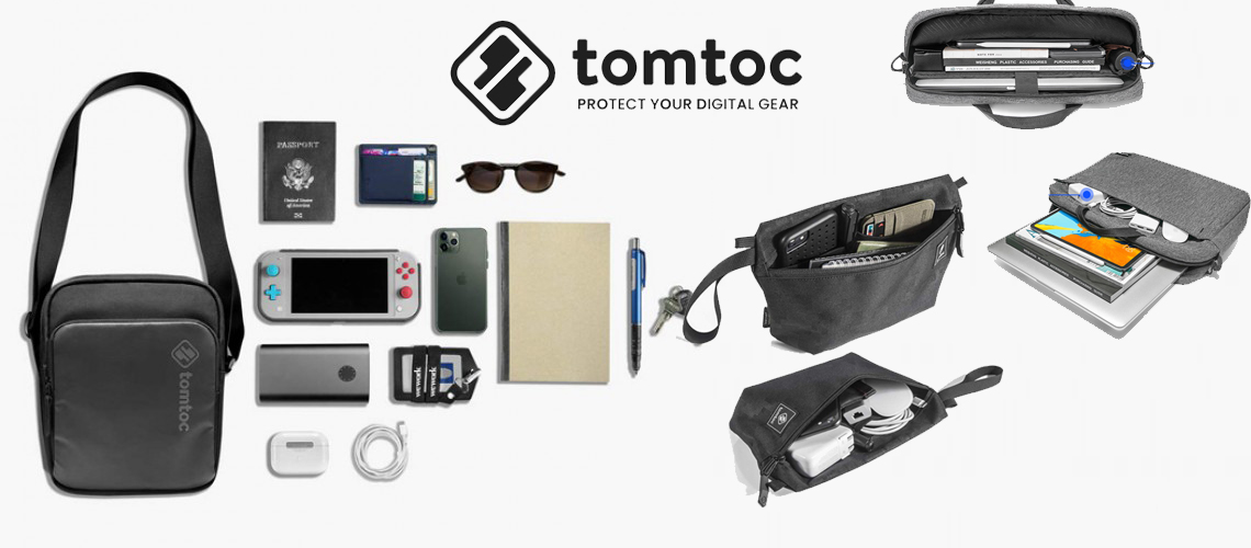 Tomtoc - Protect Your Digital Gear